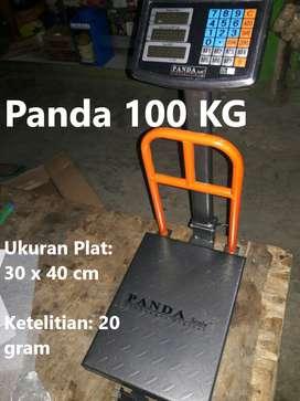 Timbangan Duduk Digital Barang / logistik Panda 100 kg