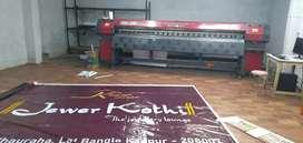 Flax Printing machine