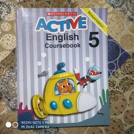 Scholastic Active English course book