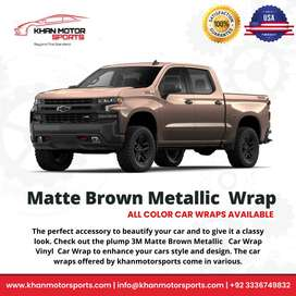 Car Premium Wraps All Colours USA Imported 3 Years Warranty All Cars