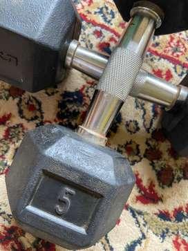 Dumbbells 5kg - for Home workout