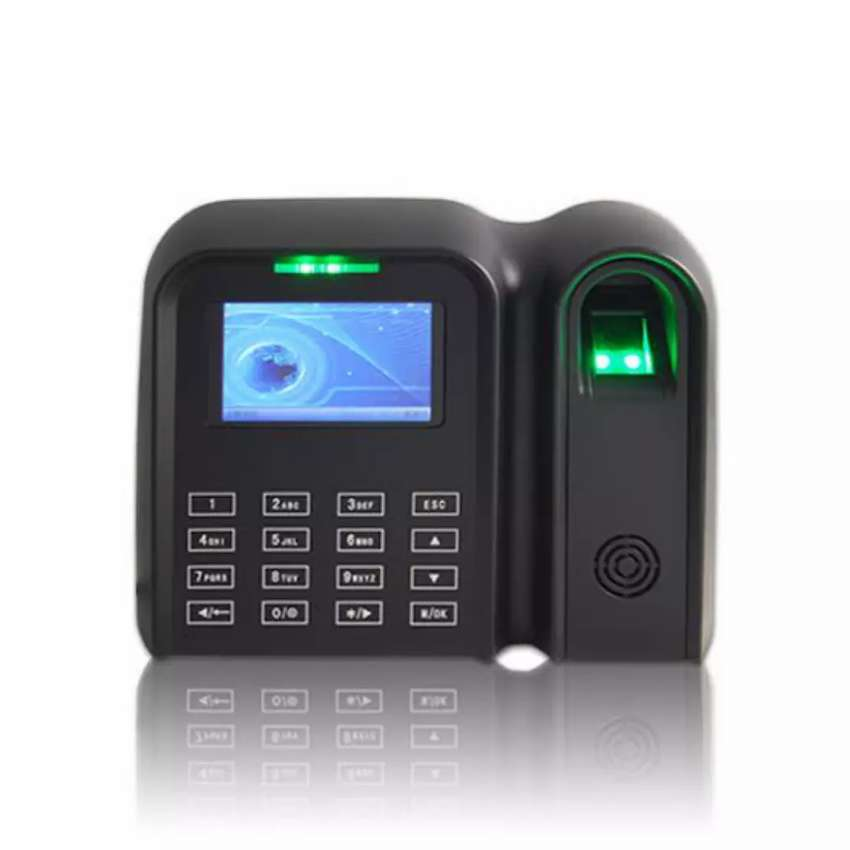 Model H887 biometric time attendance machine with installation 0
