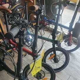 kredit sepeda lipat united avand arm IX syarat mudah