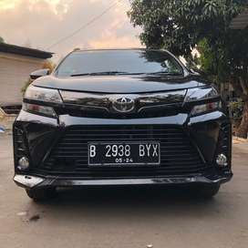 TOYOTA NEW AVANZA VELOZ FACE LIFT 1,3 MANUAL HITAM 2019