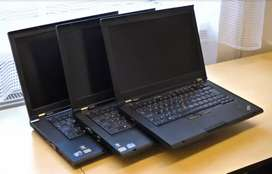 Business Series Lenovo ThinkPad Core i5 Laptops With New Battery