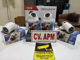 Kamera cctv SPC NEW-4 kamera-4ch-lengkap harga di jamin termurah.