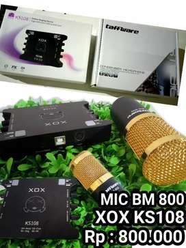 Mic & soundcard