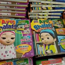 Buku Ajaib Ayo Shalat! Alif & Sofia 3D  Buku Ajaib Ayo Sholat 3D