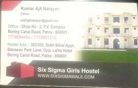 20% Discount for 1st Month on bulk (Min.4)booking in SIX SIGMA HOSTEL