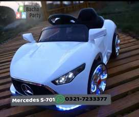 Mercedes S-701 - Kids rechargeable ride on car