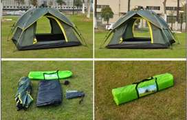 Hydraulic Camping Tent Double Fly Automatic