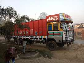 Tata 2018 ltp 37ft Bhussi truck up number h 60% tyre hai 12month paper