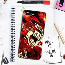 Custom Case 3D Oppo F9 Anime Bleach