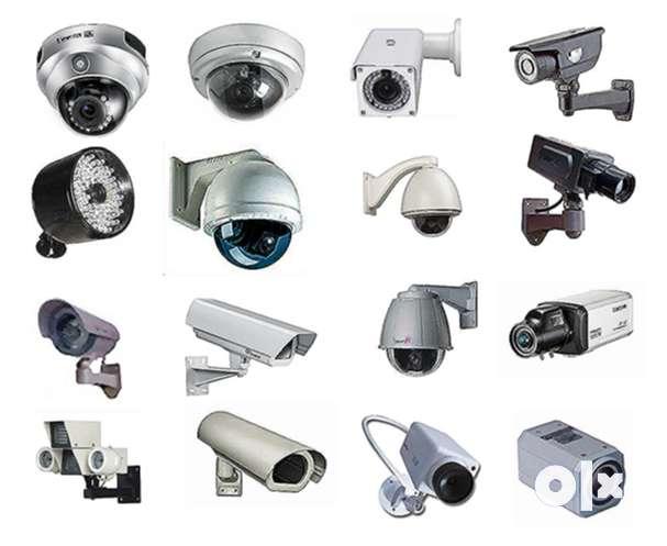 Security Bazaar Brand New Cp plus Hikvison cctv 2,4,8, channel set up 0