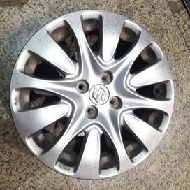 "Original Alloy Wheels available for Maruti Baleno, Ciaz. Size- 16""."
