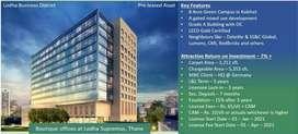 Preleased property @7% ROI