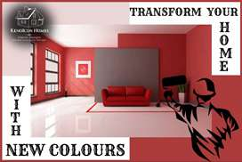 We Deal All types of Paint Works and Feature Wall or Construction