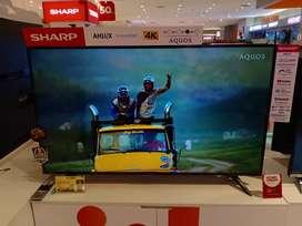 LED TV SMART 4K SHARP 50 Inc