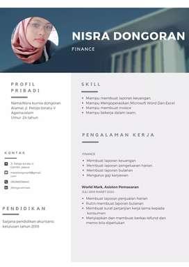 Administrasi dan finance