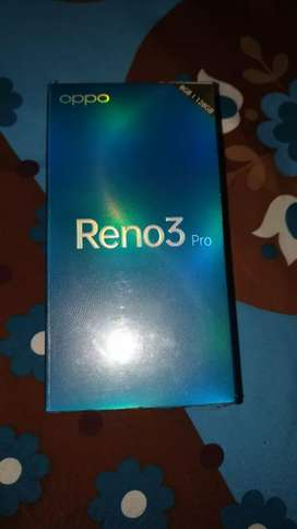 Reno 3 pro 8/128 GB seal pack.