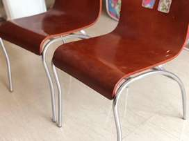 Dining Chair made of wood and steel