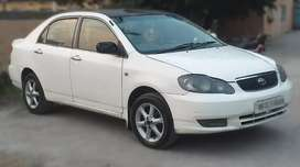 Toyota Corolla 2003 with Choice  registration Number