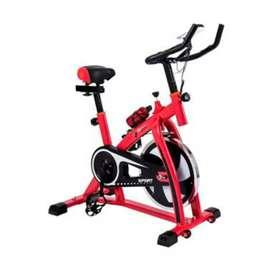 Spining bike  terbaru merah saja
