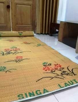 Tikar Kloso Klasa Karpet Lantai Plastik Gulung Lipat Singa Laut Bs COD