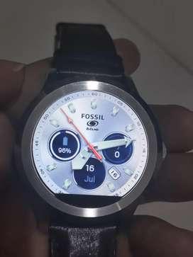 Jam tangan Fossil gen 2 Smartwatch Leather..
