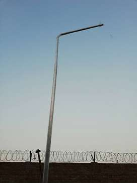 Street Lighting CCTV GDR Poles tower with J bolts