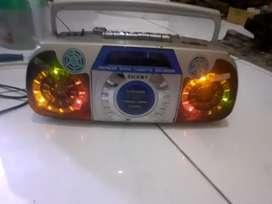 tape Sunny mati, cuma suara angin dan nyala lampu disco