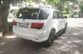 Toyota Fortuner 4x2 AT, 2012, Diesel