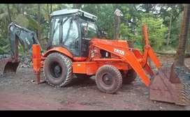 Renting of excavator Tata JD