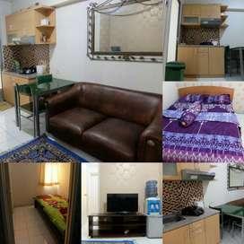 Apartemen Kalibata City 2BR sewa harian & transit Jakarta