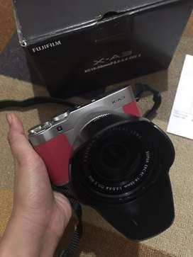Kamera Mirorless Fujifilm XA3 Pink