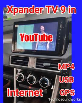Tv mobil Android 9 in WiFi internet mp4  double din tape head unit