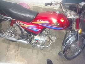 Motercycle honda cd702006 good condition