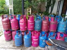 Tabung Kosong Gas LPG 12 Kg Mulus.