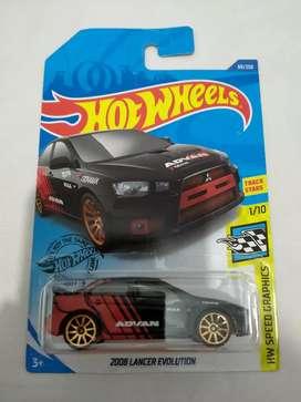 Hot Wheels Mitsubishi Lancer Evolution