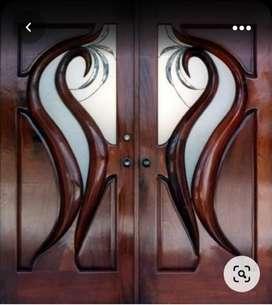 Kusen + daun pintu kuputarung