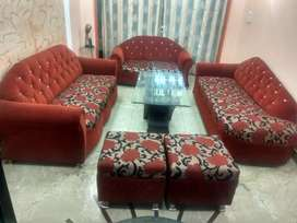 Sofa Set (excluding Centre Table)