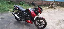 RTR 160 special Edition dual disk very good condition bike