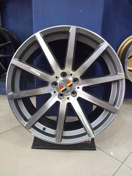 Velg mobil racing ARU Ring 20 Pcd 5x112 untuk Innova Xpander Outlander