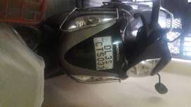 Black  Colour with two wheeler extra welded in good condition.