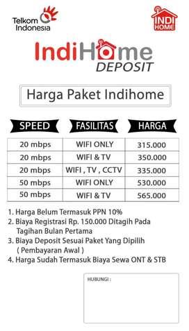 Pasang baru wifi indihome 20mbps murah