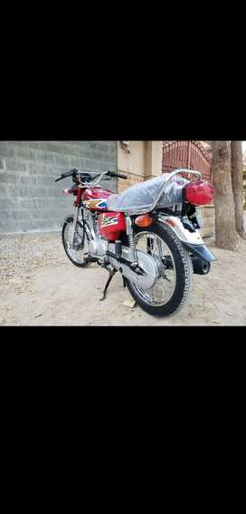 Honda cg 125 unregistered