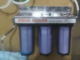 Three stage water filter