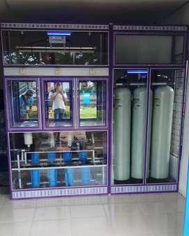 Pembuatan usaha air isi ulang galon