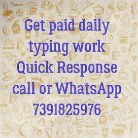 Payment Weekly Basis { Typing Jobs }