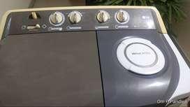 LG SEMI AUTOMATIC WASHING MACHINE 6.5 KG, LG , 5 Years